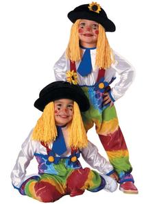 Flower Clown Child Costume