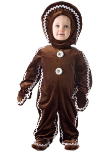 Gingerbread Toddler Costume