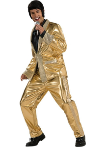 Gold Presley Adult Costume