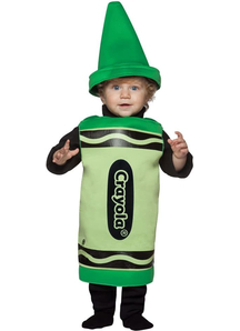 Green Crayola Pencil Toddler Costume