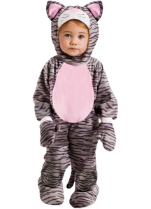 Grey Kitten Toddler Costume
