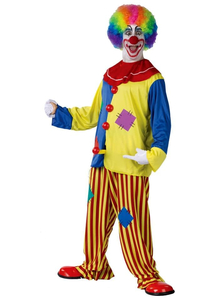Happy Clown Adult Costume