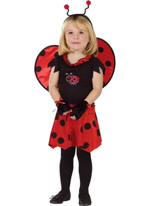 Heart Girl Toddler Costume
