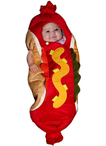 Hot Dog Infant Costume
