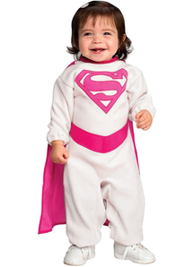 Infant Pink Supergirl Costume