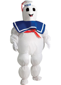 Inflatable Stay Puft Adult Costume