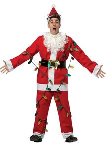 Light-Up Santa Adult Costume