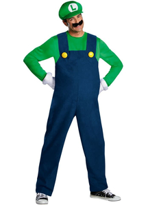 Luigi Adult Plus Costume