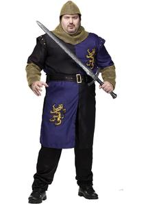 Medieval Knight Adult Plus Costume