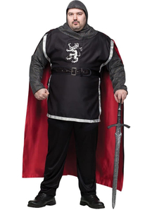 Medieval Knight Adult Plus Size Costume