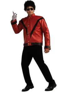 Michael Jackson Red Thriller Jacket Adult