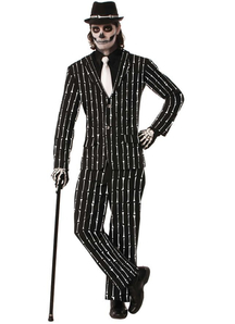 Mr Bones Suit Adult