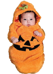 Orange Pumpkin Infants Costume