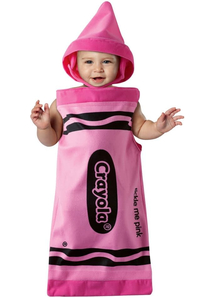 Pink Crayola Infant Costume
