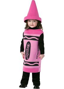 Pink Crayola Toddler Costume - 11372