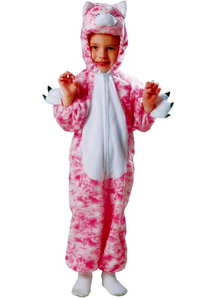 Pink Kitten Toddler Costume