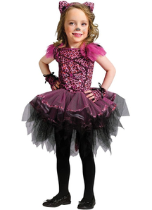Pink Leopard Toddler Costume