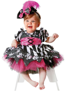 Pink Pirate Toddler Costume