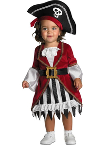 Pirate Lady Toddler Costume
