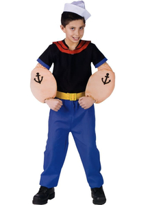 Popeye Toddler Costume