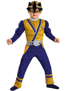 Power Rangers Gold Ranger Toddler Costume