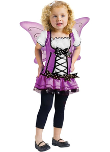 Purple Fairy Toddler Costume