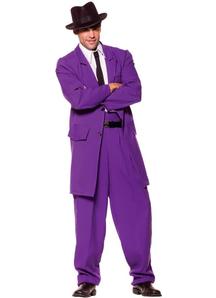 Purple Zoot Suit Adult
