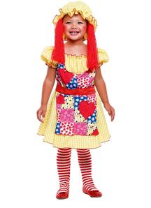 Rag Dol Toddler Costume
