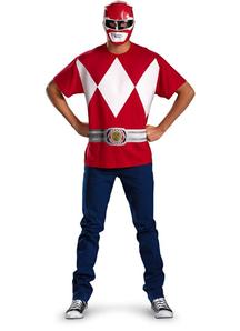 Red Ranger Adult Set