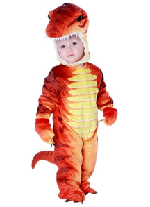 Red T-Rex Toddler Costume