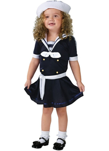 Sea Sailor Toddler Costume