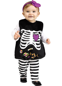 Skeleton Halloween Infant Costume
