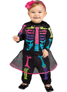 Skeleton Infant Costume