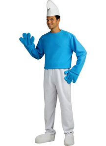 Smurf Adult Costume