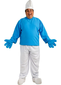 Smurf Adult Plus Costume