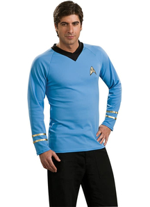 Star Trek Blue Shirt Adult