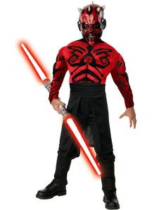 Star Wars Darth Maul Muscle Adult Costume