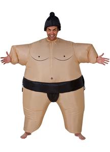 Sumo Whrestler Inflatable Costume