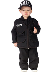 Swat Police Toddler Costume
