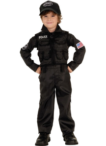 Swat Policeman Toddler Costume