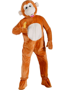 Sweet Monkey Adult Costume
