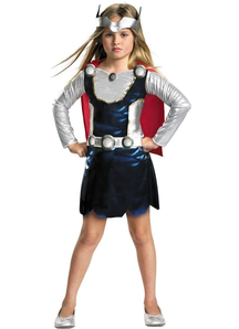 Thor Girl Toddler Costume