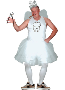 Tooth Fairy Plus Size Adult Costume