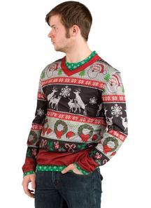 Ugly Christmas Deer Sweater Adult