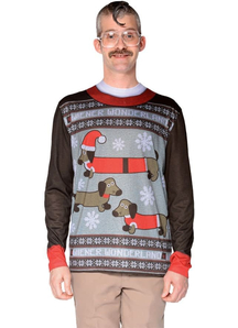 Ugly Christmas Wonderland Sweater Adult