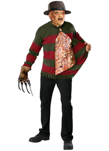 Ugly Freddy Crueger Adult Sweater