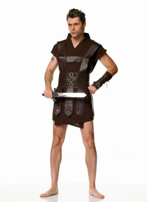 Warrior Man Adult Costume