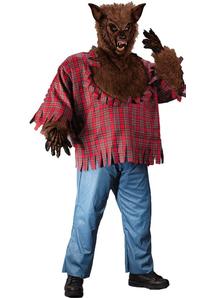 Werewolf Plus Size Adult Costume
