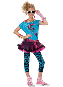 80'S Girl Teen Costume
