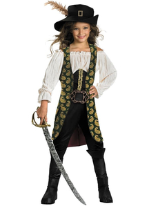 Angelica Pirates Of The Carribean Child Costume